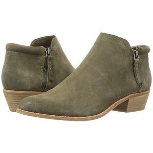Steve Madden Olive Suede TOBII booties
